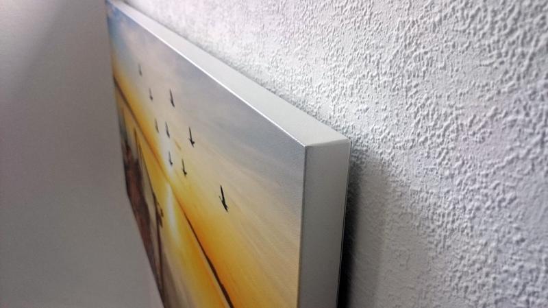 Extra Living Infrarot Bildheizung Motiv: Strand, 350 Watt