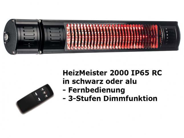 HeizMeister 2000 RC IP 65 mit Rundfuß Stativ